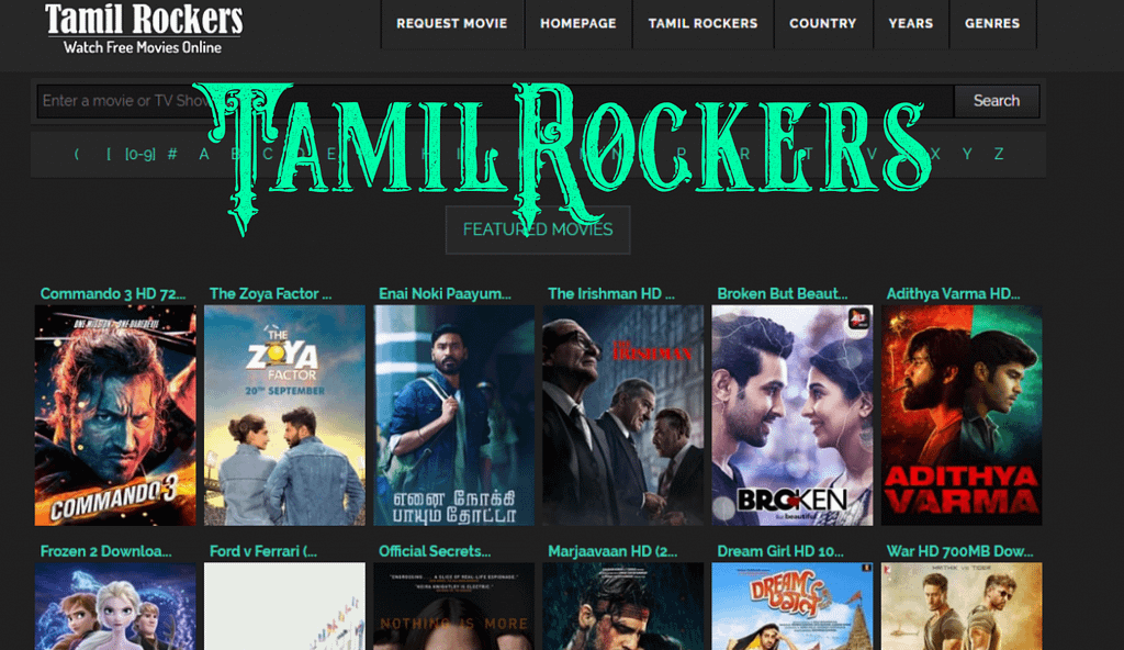TamilRockers New website link 2020