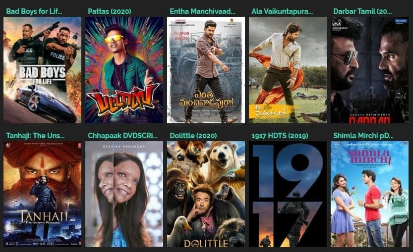 tamilrockers website latest new link 2020